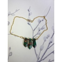 "Necklace "" Precious Angel"" - Green"