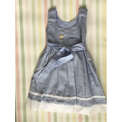 Sleeveless Hand Smocked Dress - 2 yr old - Pale Blue