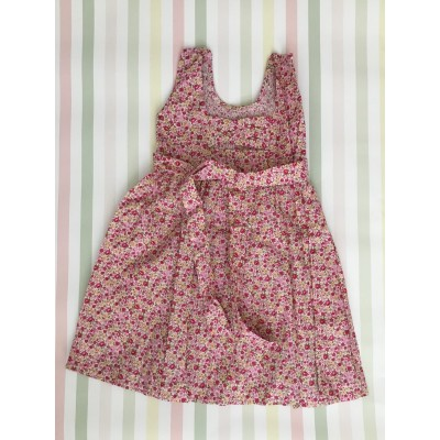 "Sleeveless Hand Smocked Dress - 1yr old - ""Tendresse"""