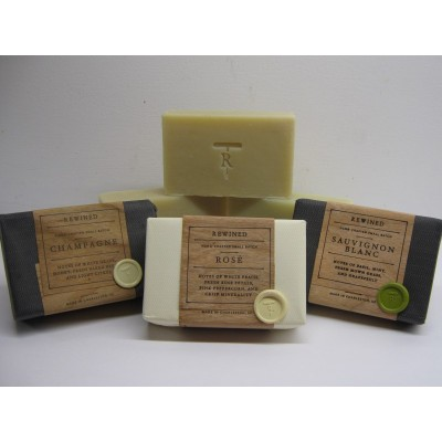 Rewined Soap -  Rose scented