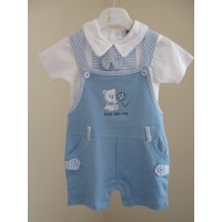 Boys Two Piece Teddy Outfit