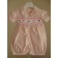 Hand Smocked Romper Suit - 2 year old